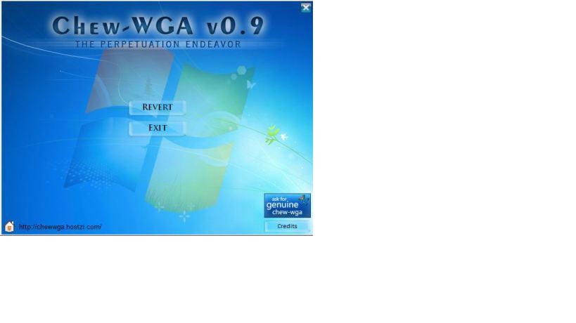 windows 7 crack chew-wga